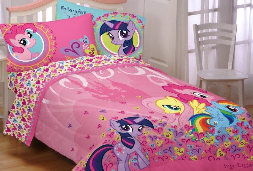 Horse Bedding For Girls | Circo Bedding Collection | Polo Bed Sheets With Horse