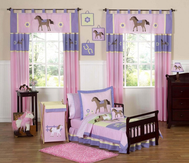 Horse Bedding For Girls | Fire Truck Bedding Twin | Pottery Barn Horse Bedding