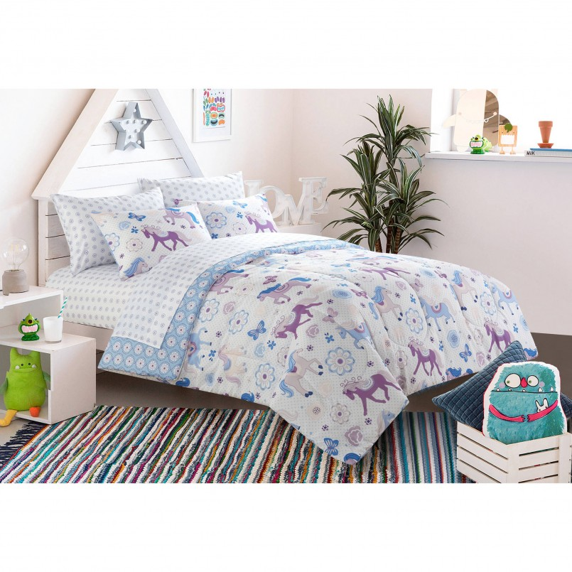 Horse Bedding For Girls | Girls Bedding Target | Cowgirl Comforter