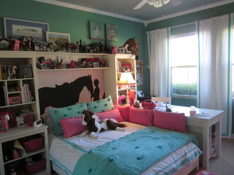 Horse Bedding For Girls | Girls Western Bedding | Horse Bed Comforters