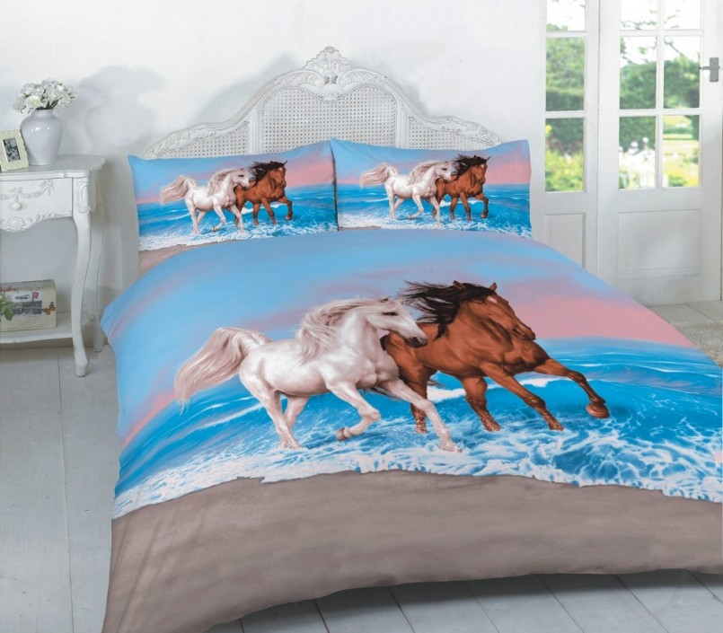 Horse Bedding For Girls | Horse Bedding Sets Twin | Rods Western Wear Bedding