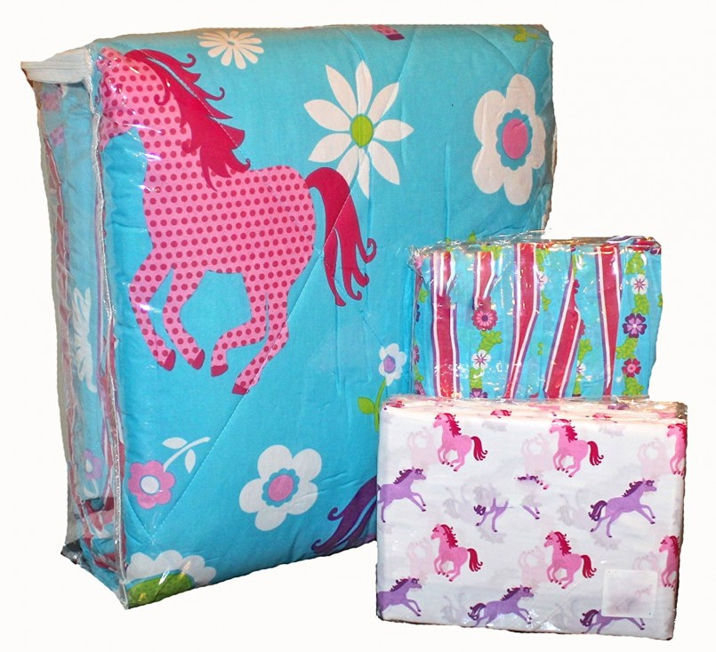 Horse Bedding For Girls | Horse Comforters | Cowgirl Bedding Sets