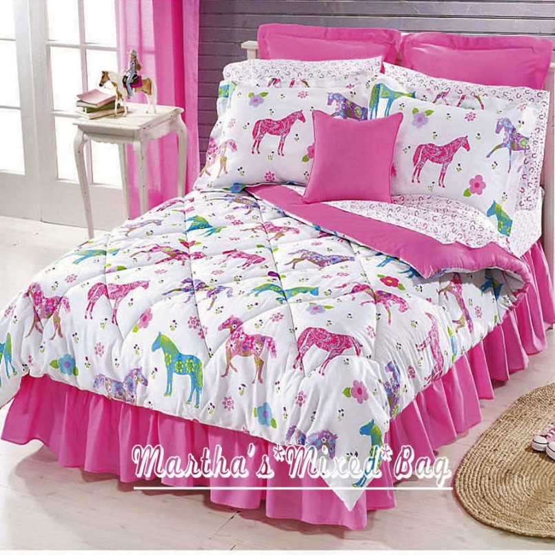 Bedroom Find Your Adorable Selection Of Horse Bedding For