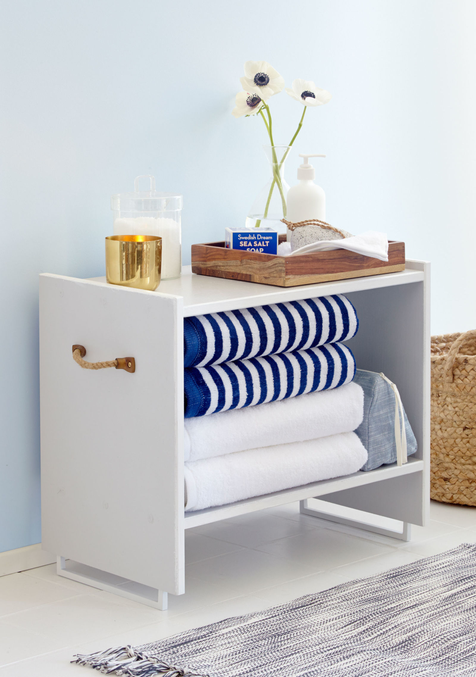 Ikea Side Tables with Drawers | Tarva Nightstand | Narrow Bedside Table