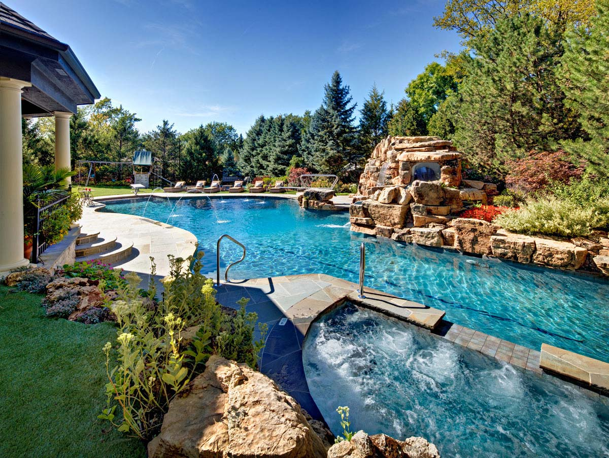 Inground Pool Costs | Backyard Pool Designs | Inground Pool Designs For Small Backyards