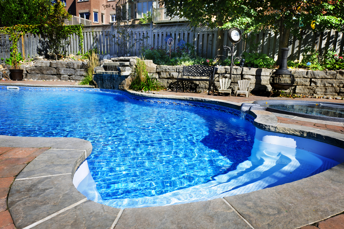 Inground Pool Pictures | Backyard Pool Designs | Custom Pool And Spa