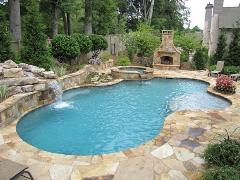 Inground Swimming Pools Designs | Diy Plunge Pool | Backyard Pool Designs