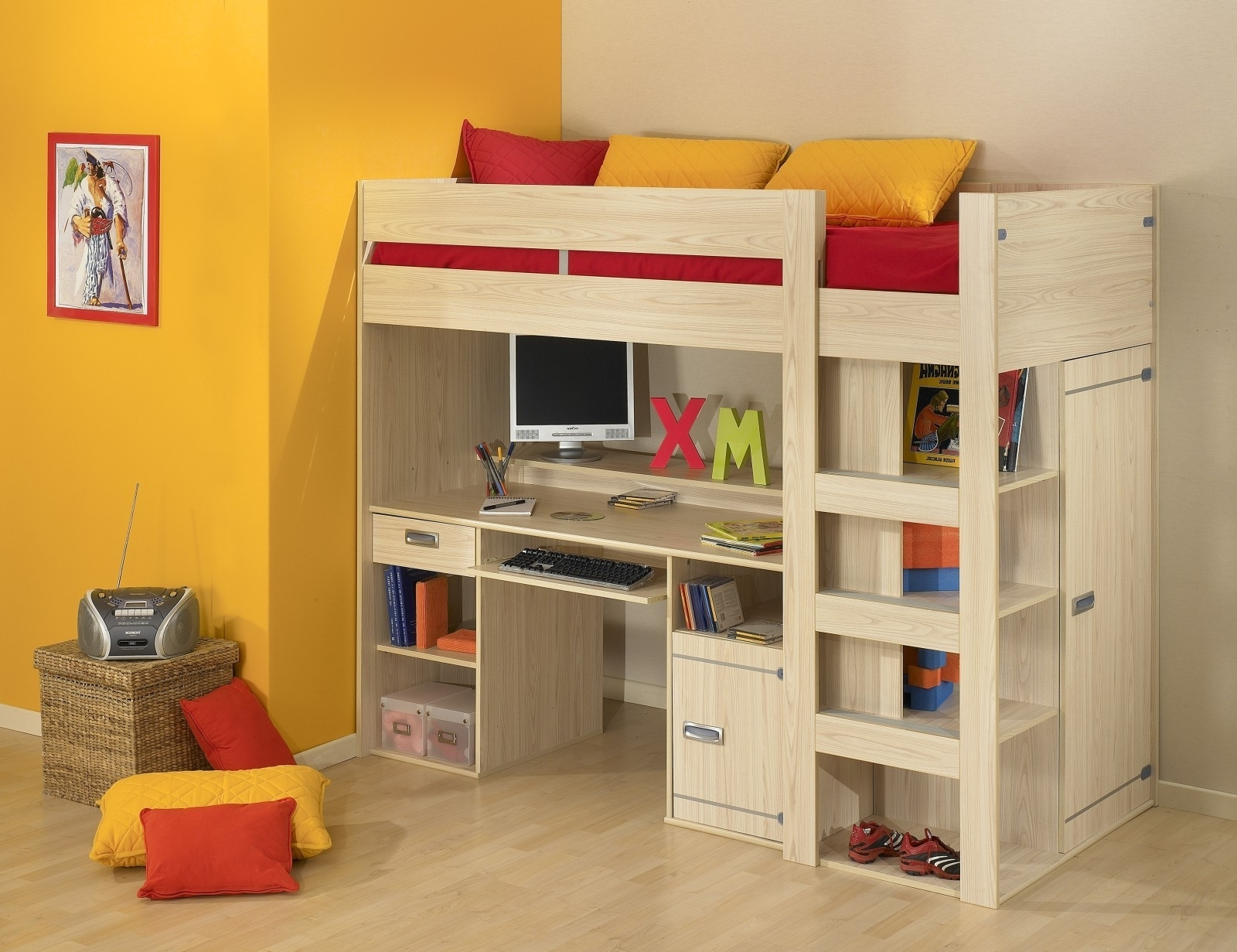 Innovative Canwood Loft Bed for Your Kids Bedroom Ideas: Inspiring Canwood Junior Loft Bed White | Nice Canwood Loft Bed Design