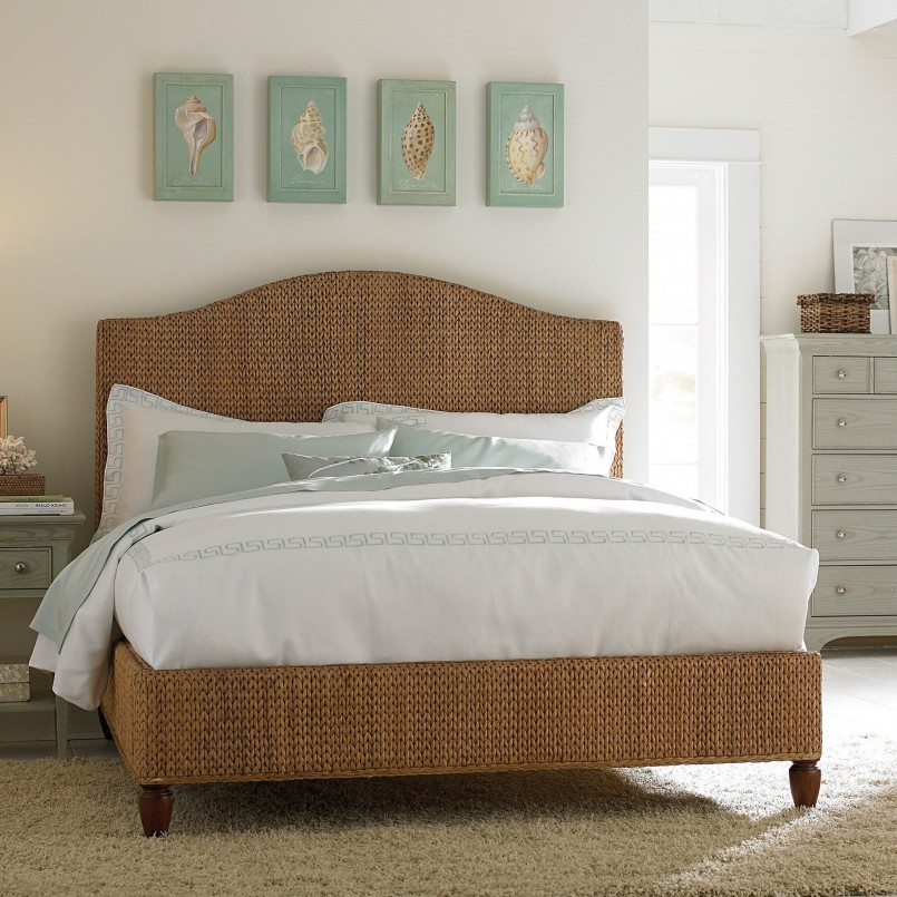 King Seagrass Headboard | King Size Wicker Headboard | Seagrass Headboard King
