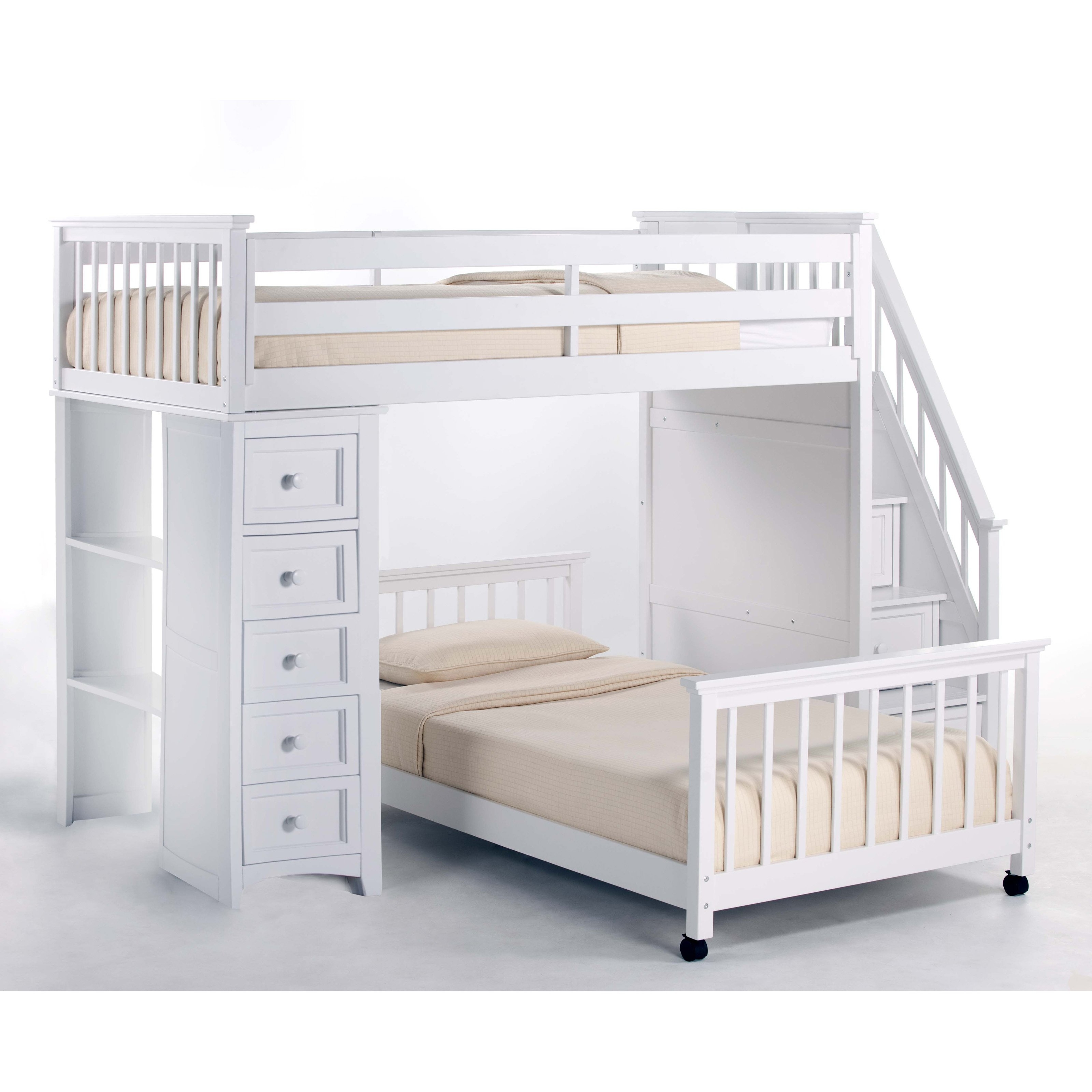 Marvellous Canwood Loft Bed Inspirations | Impressive Canwood Whistler Storage Loft Bed with Desk Bundle White