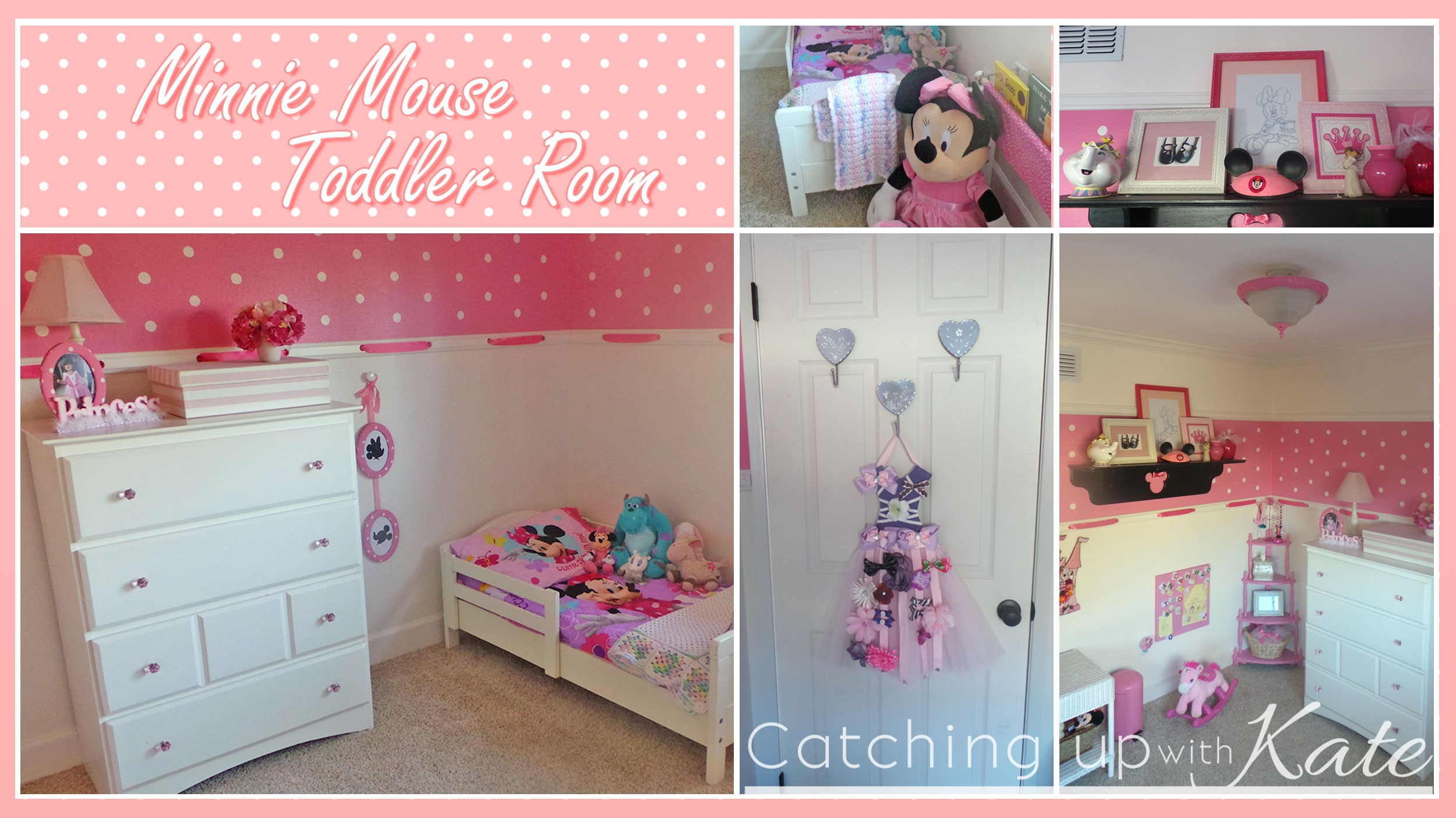 decorations sweeten up your little girl room with minnie mouse