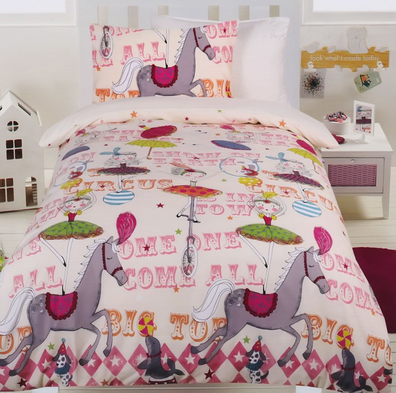 Minecraft Twin Bed Set | Horse Bedding For Girls | Western Cowgirl Bedding