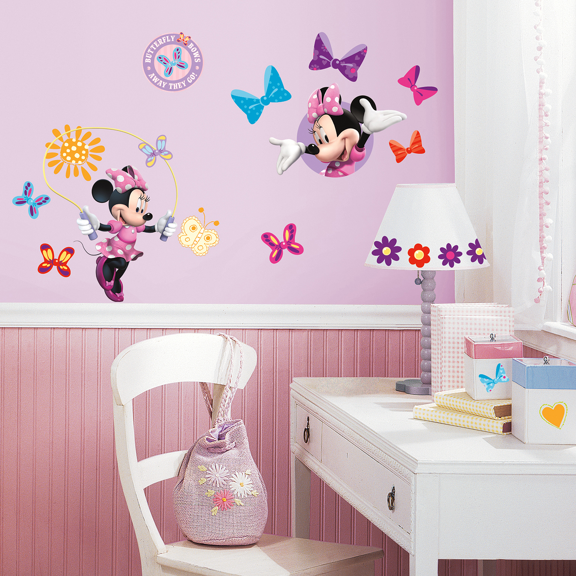 Minnie And Mickey Mouse Room Ideas | Minnie Mouse Wall Art | Minnie Mouse Wall Decor