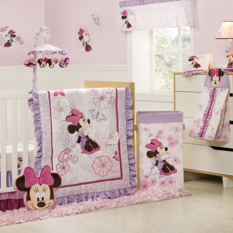 Minnie Mouse Bedroom Set | Minnie Mouse Night Stand | Minnie Mouse Wall Decor