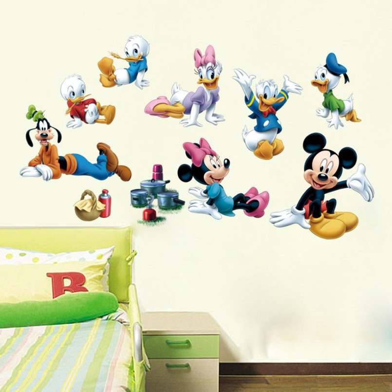 Minnie Mouse Items For Sale | Baby Minnie Mouse Wall Decals | Minnie Mouse Wall Decor