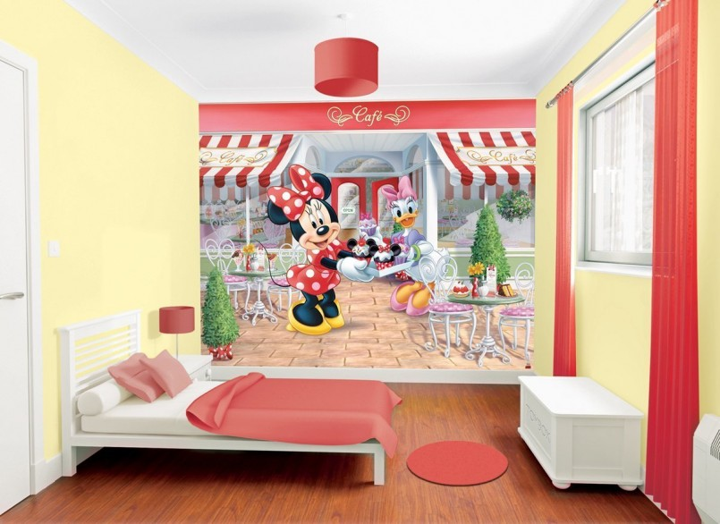 Minnie Mouse Rooms | Minnie Mouse Wall Decor | Mickey And Minnie Bedroom Ideas