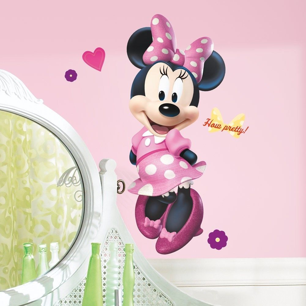 Minnie Mouse Wall Decor | Baby Minnie Mouse Decor | Minnie Mouse Rooms