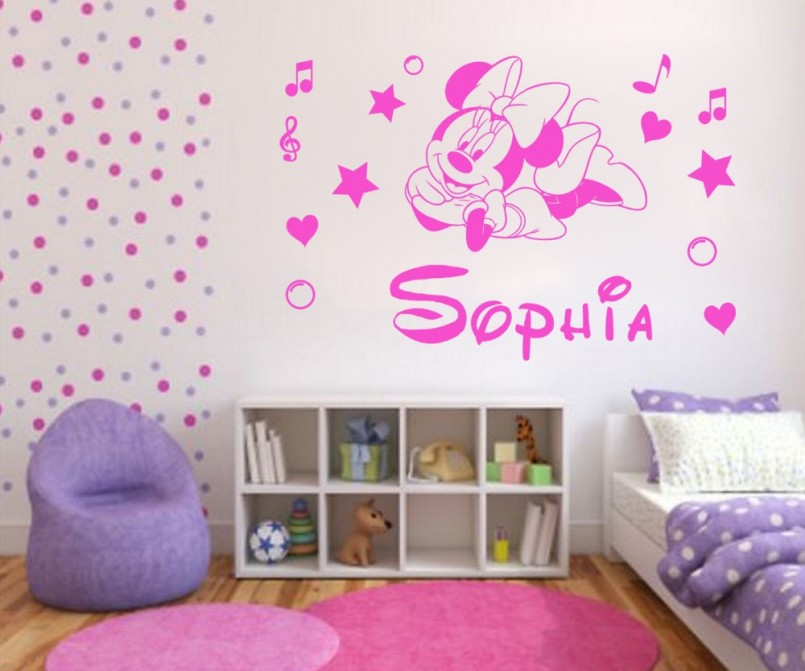 Minnie Mouse Wall Decor | Minnie Mouse Bedroom Set | Minnie Mouse Chairs For Kids