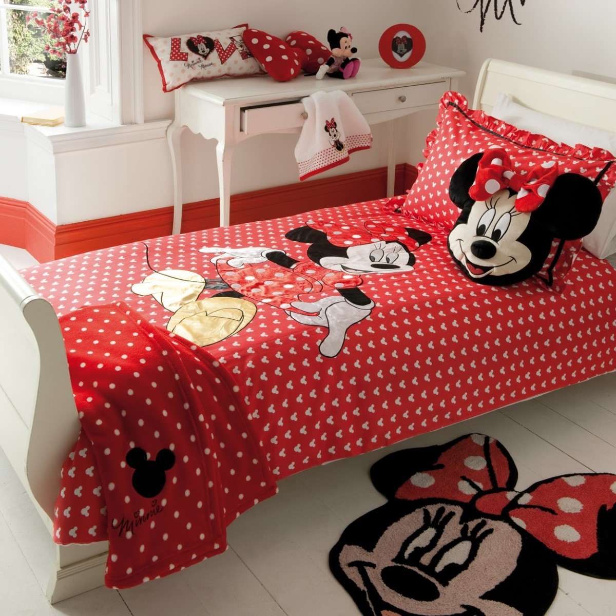 Minnie Mouse Wall Decor | Minnie Mouse Wall Light | Wall Decals Minnie Mouse