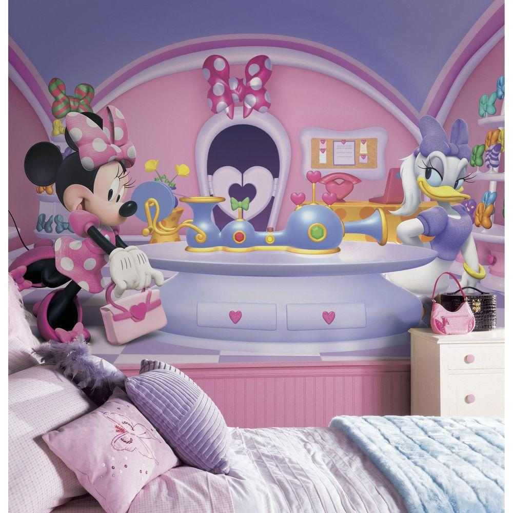 Minnie Mouse Wall Decor | Personalized Minnie Mouse Stickers | Mickey Mouse Fathead