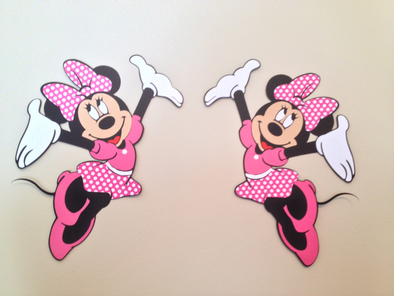 Minnie Wall Decals | Minnie Mouse Wall Decor | Mickey and Minnie Mouse Bedroom