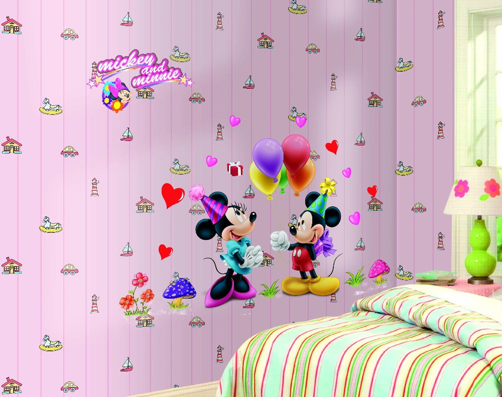 Minnie Wall Decals | Minnie Mouse Wall Decor | Minnie Mouse Wall Hangings