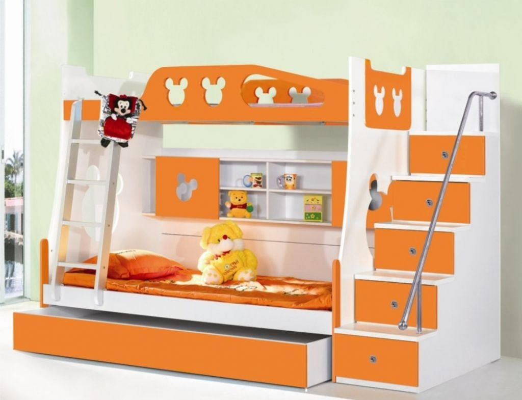 Modern Bunk Beds | Low Profile Bunk Bed | 4 Bed Bunk Bed