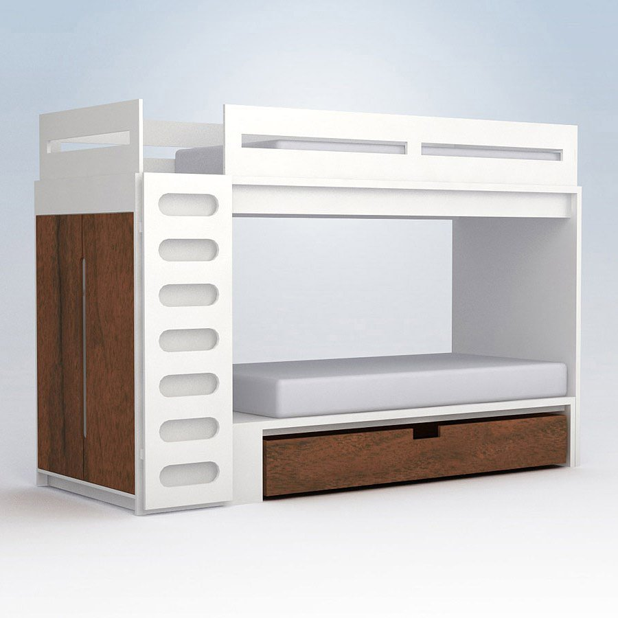 Incredible Style and Modern Bunk Beds for Kids Bedroom: Modern Bunk Beds | Low Profile Bunk Beds | Modern Trundle Beds