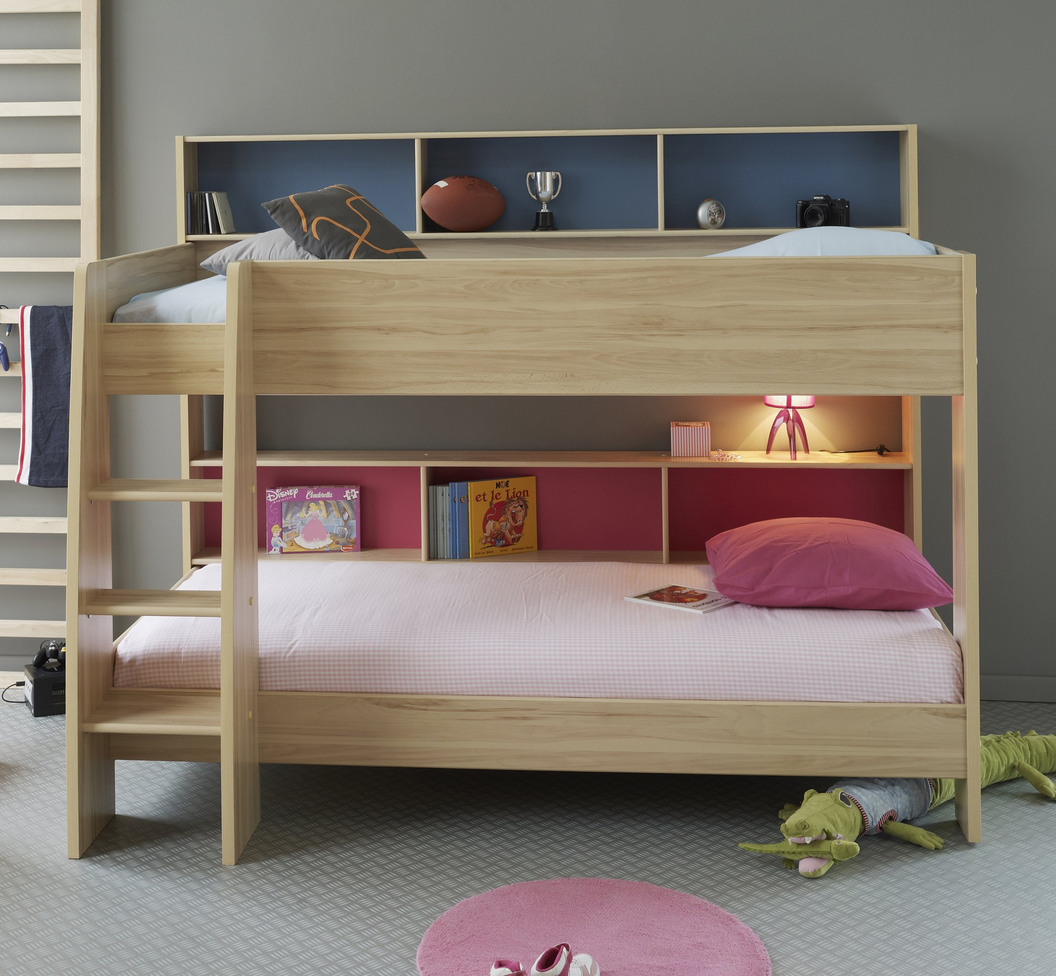 Incredible Style and Modern Bunk Beds for Kids Bedroom: Modern Bunk Beds | T Shaped Bunk Beds | Modern Bunk Beds