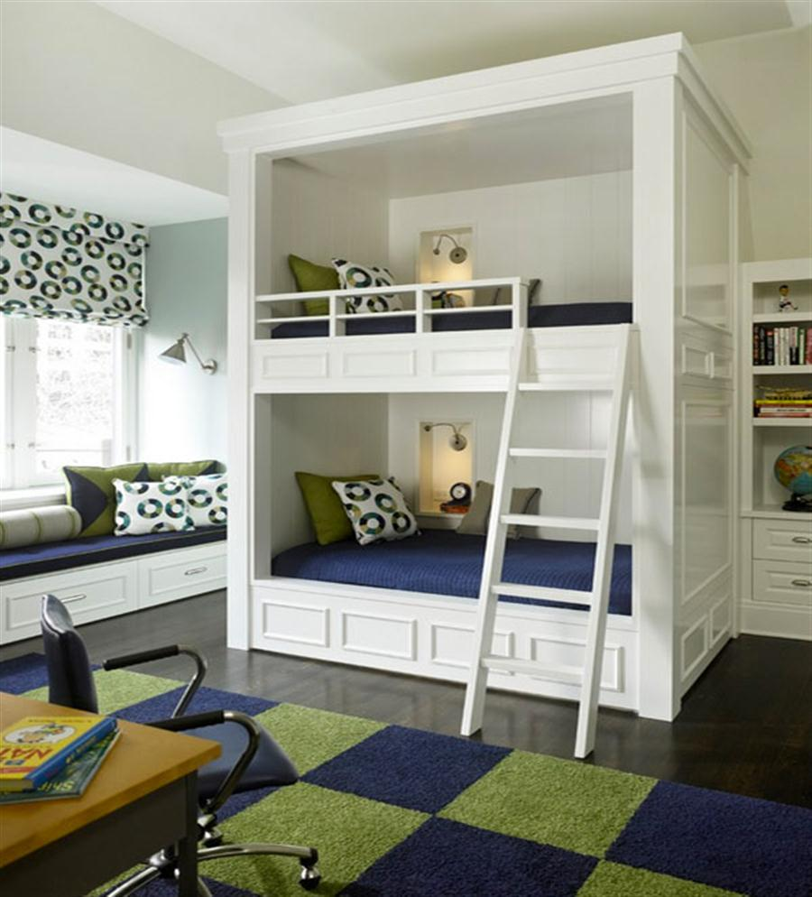 Incredible Style and Modern Bunk Beds for Kids Bedroom: Modern Bunk Beds With Storage | Modern Bunk Beds | Full Size Junior Loft Bed