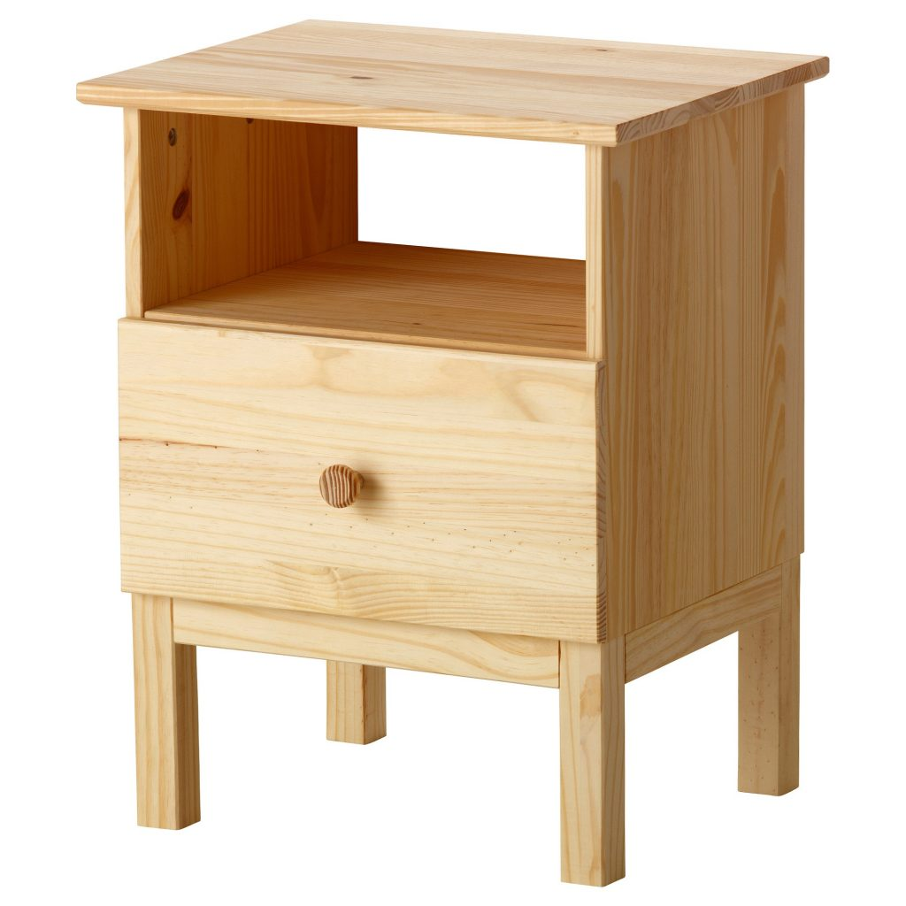 Nightstand with Lock | Tarva Nightstand | Nightstands Clearance