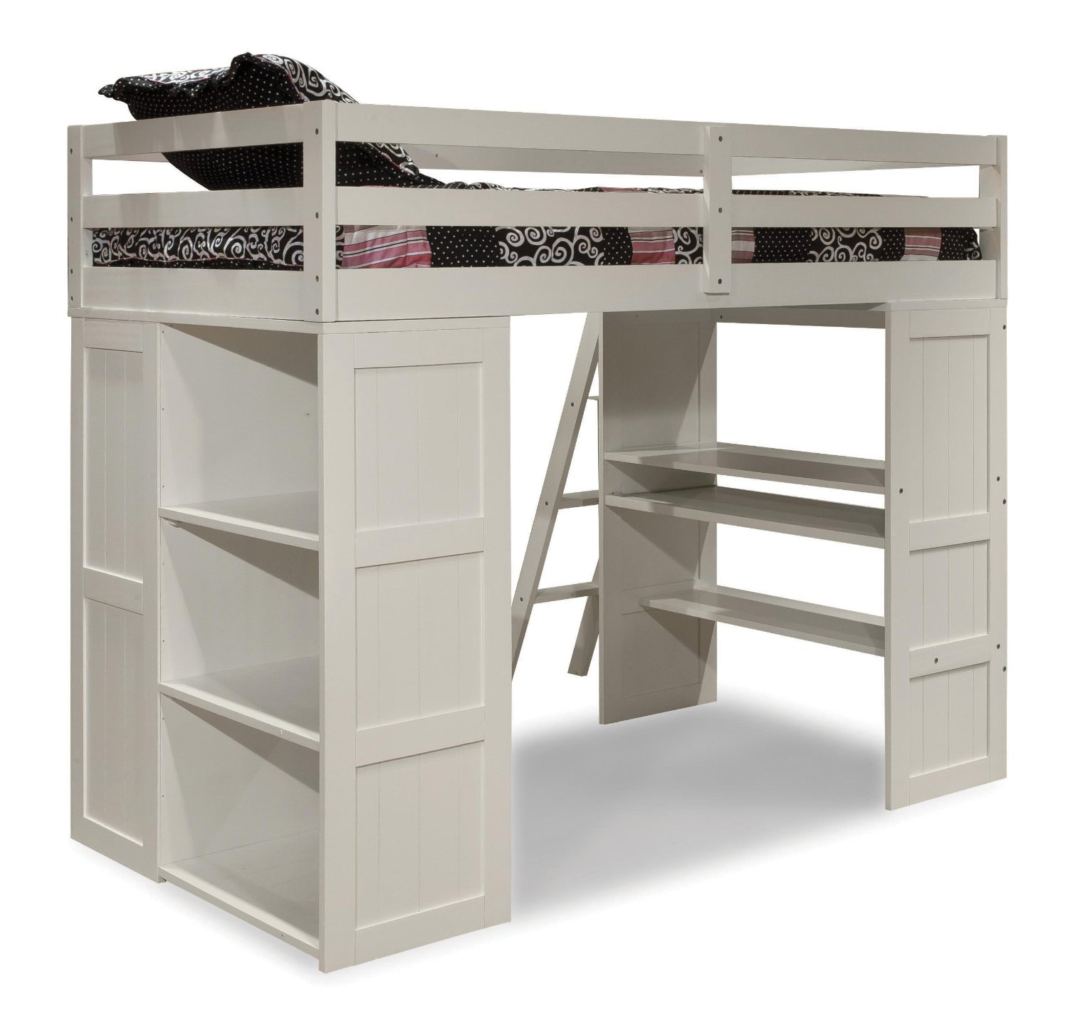 Outstanding Wood Junior Loft Bed | Pretty Canwood Loft Bed
