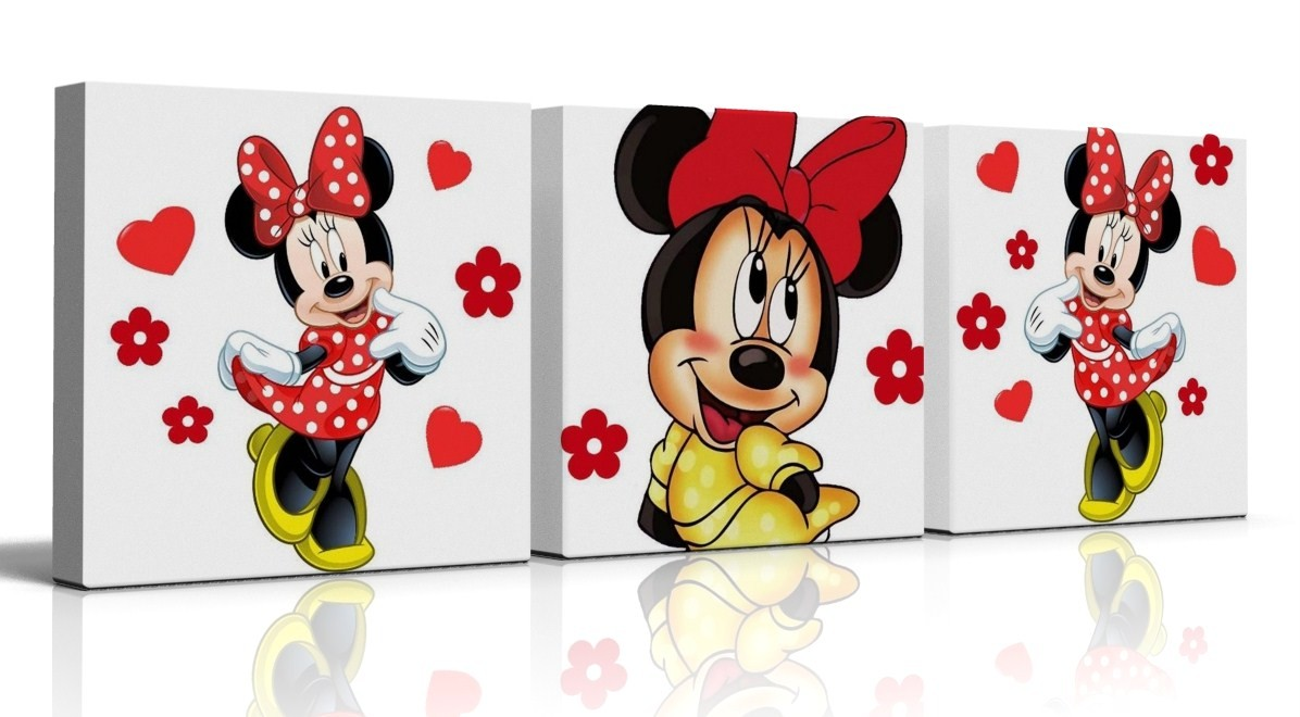 Personalized Minnie Mouse Stickers | Mickey Mouse Fathead | Minnie Mouse Wall Decor