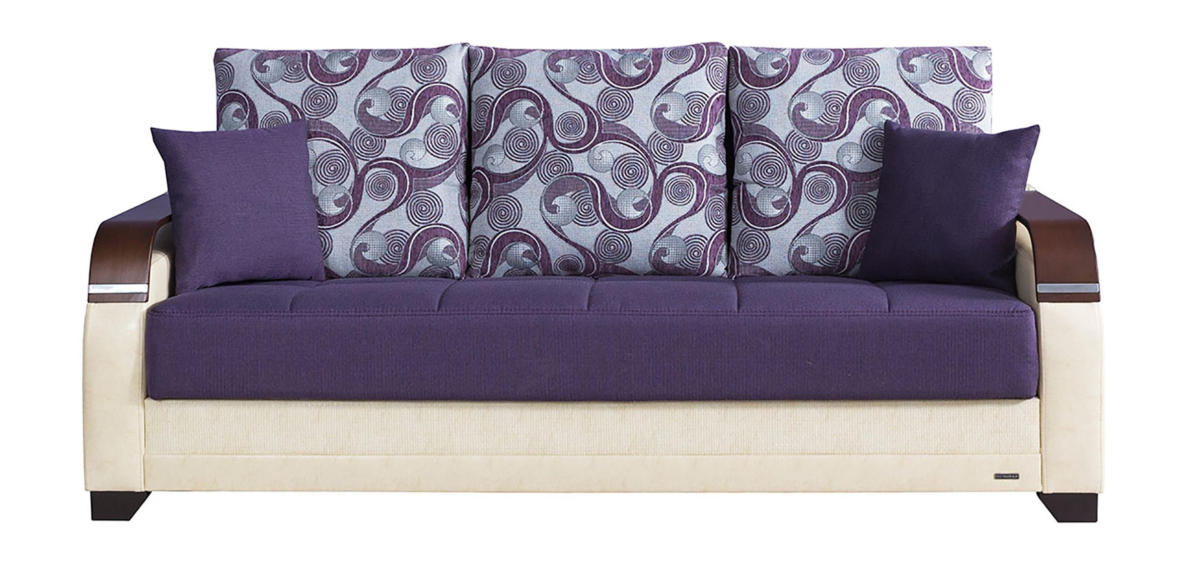 Plum Sectional Sofa | Eggplant Sectional Sofa | Purple Sofa