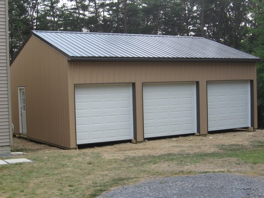 Ideas pole barn house plans with loft pole barns pa for Pole barn garage designs