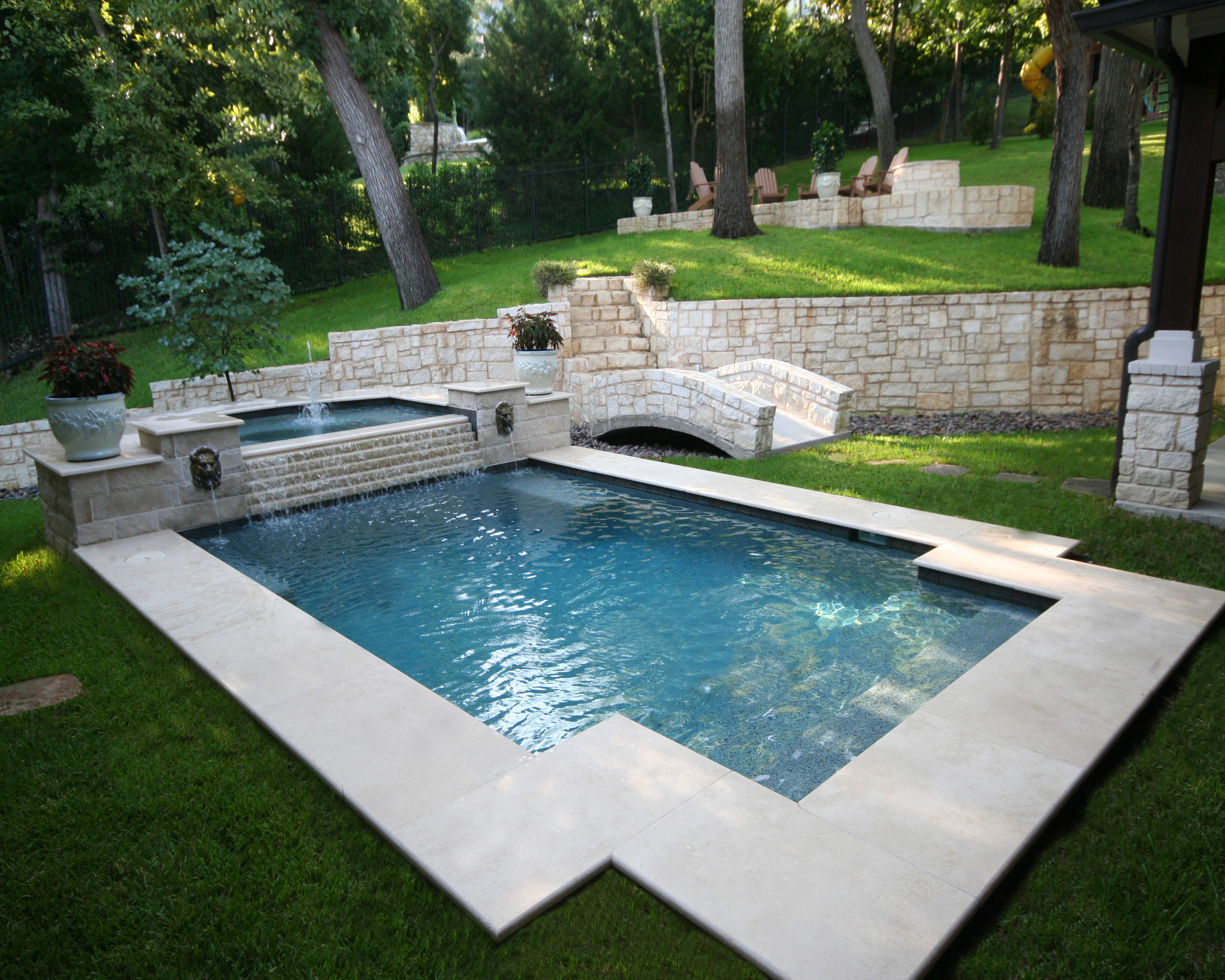 Pool Ideas For Small Backyards | Backyard Pool Designs | Underground Swimming Pools