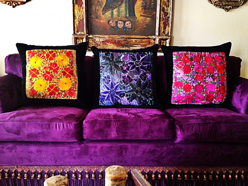 Purple Chenille Sofa | Purple Velvet Sectional Sofa | Purple Sofa
