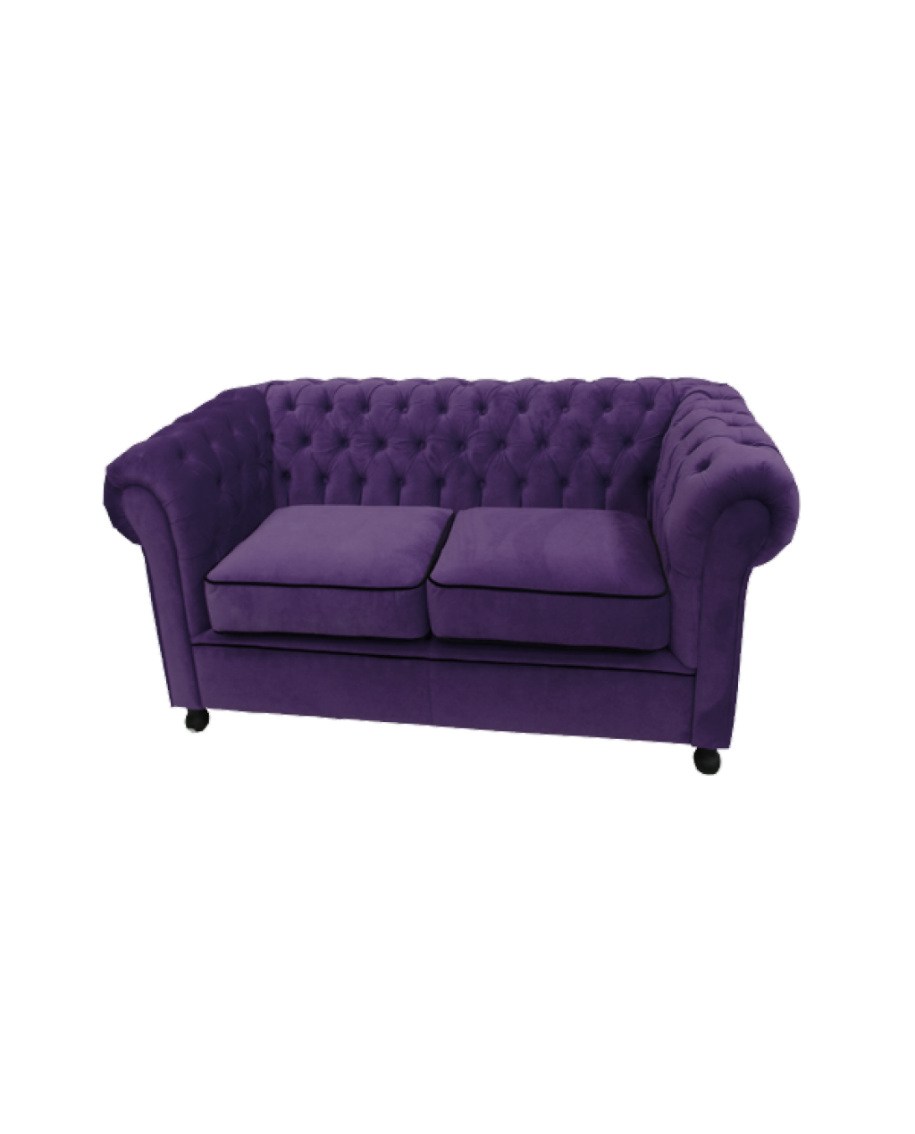 Warm Purple Sofa to Complete Your Living Room Decor: Purple Sofa | Plum Sectional Sofa | Purple Chesterfield Sofa