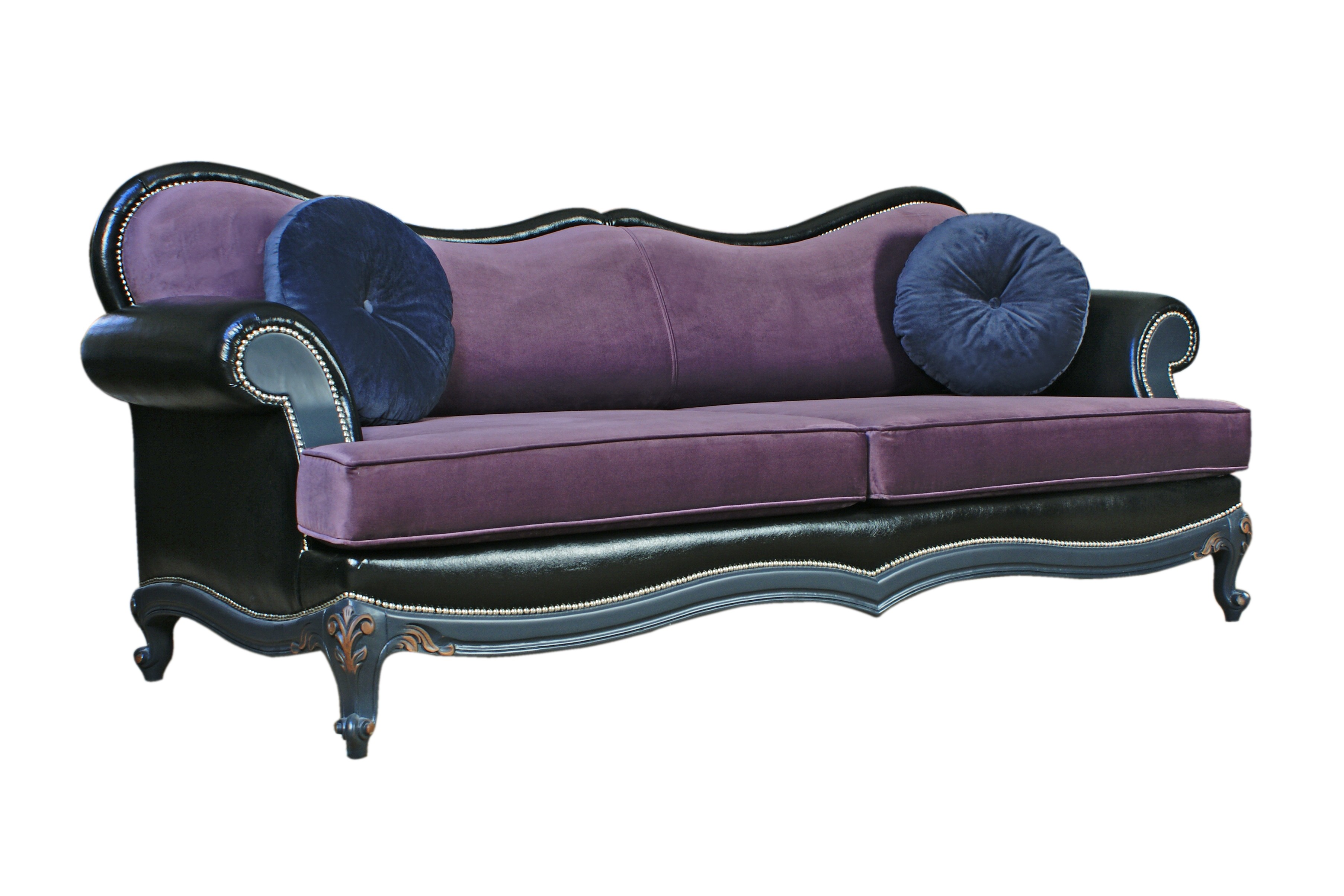 Purple Sofa | Purple Chesterfield Sofa | Eggplant Sectional Sofa