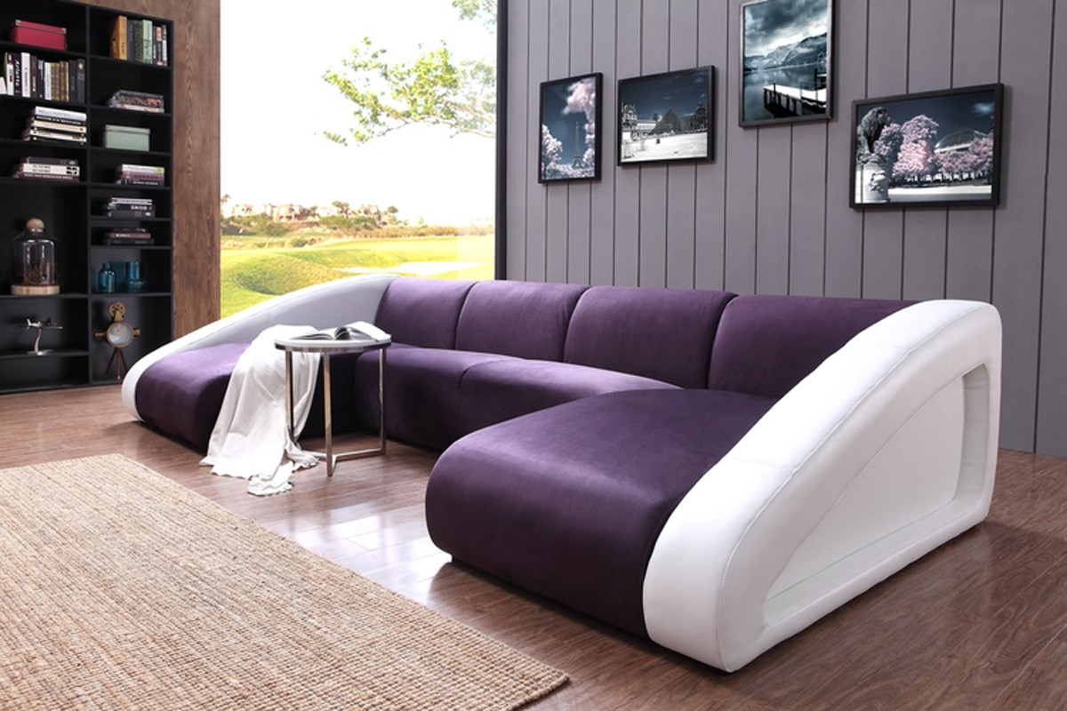 Warm Purple Sofa to Complete Your Living Room Decor: Purple Sofa | Purple Lounge Chair | Lilac Sofa Bed