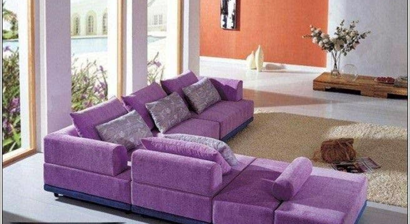 Warm Purple Sofa to Complete Your Living Room Decor: Purple Sofa | Purple Sofa Sleeper | Eggplant Sectional Sofa