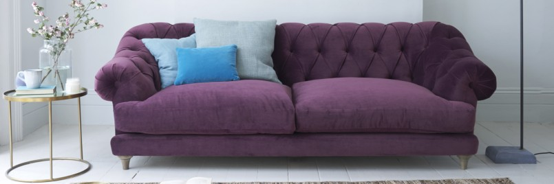 Purple Sofa Sleeper | Purple Sofa | Plum Loveseat