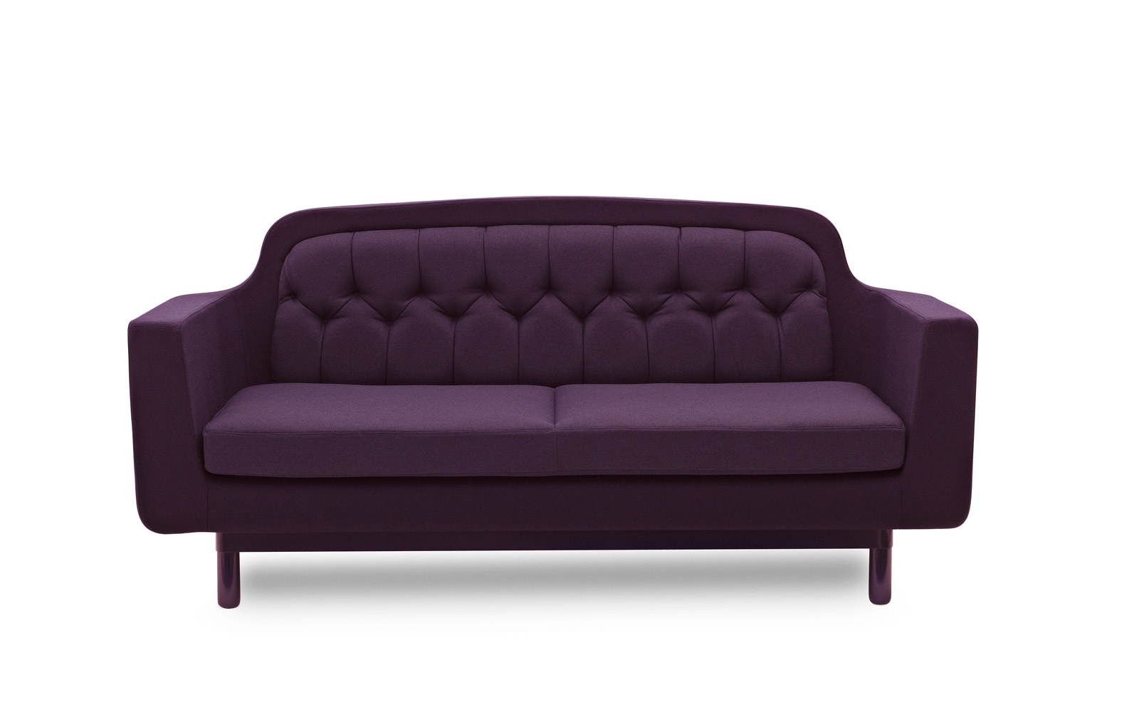 Warm Purple Sofa to Complete Your Living Room Decor: Purple Velvet Sectional Sofa | Velvet Couches For Sale | Purple Sofa