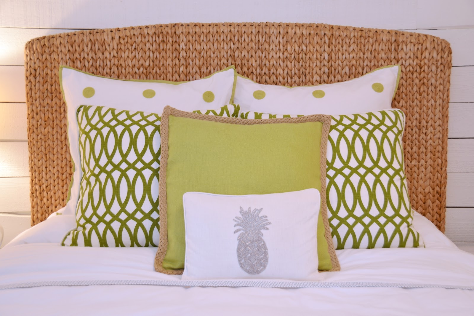 Rattan Headboards | Seagrass Headboard King | Wicker Peacock Headboard
