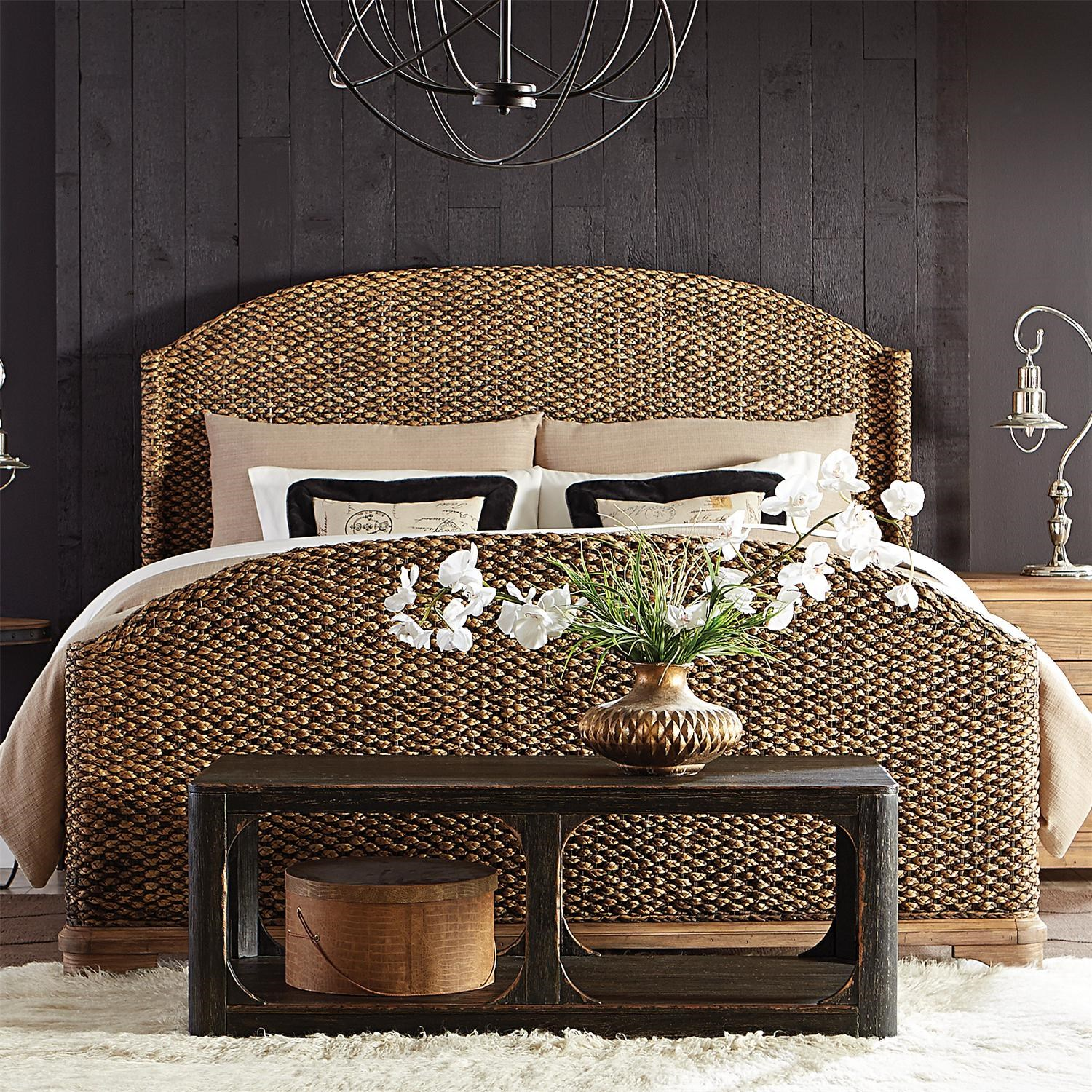 Rattan Twin Headboard | Seagrass Headboard King | Wicker Headboards Twin