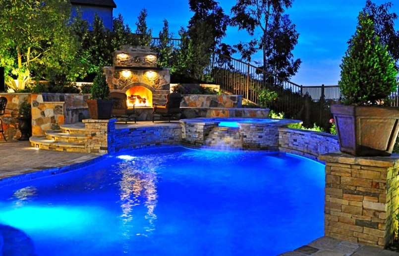 Rectangle Inground Pool Sizes | Backyard Pool Designs | Mini Inground Pools