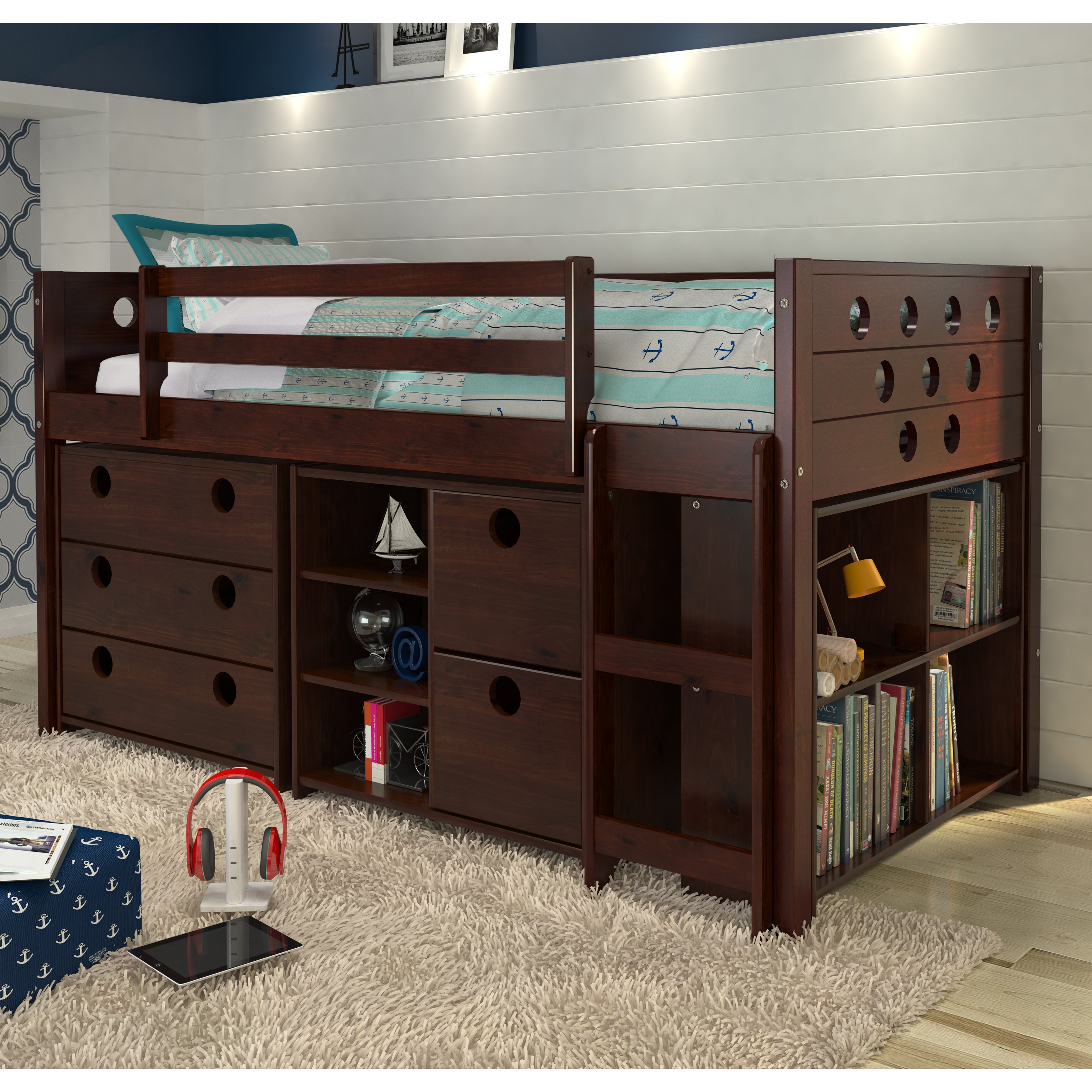 Remarkable Canwood Loft Bed Ideas | Nice Cherry Loft Bed