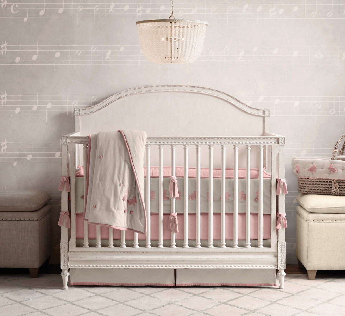 Restoration Hardware Cribs | Affordable Iron Crib | Bellini Bassinet