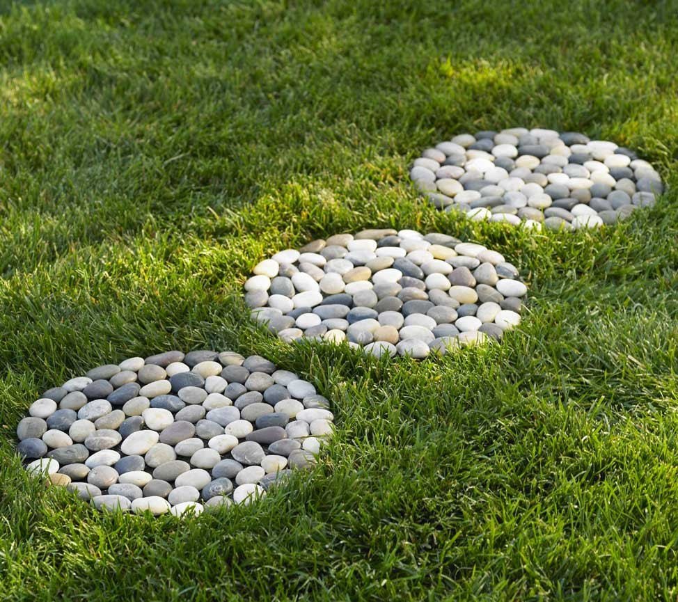 Round Stepping Stones | Walking Stones | Lowe`s Stepping Stones