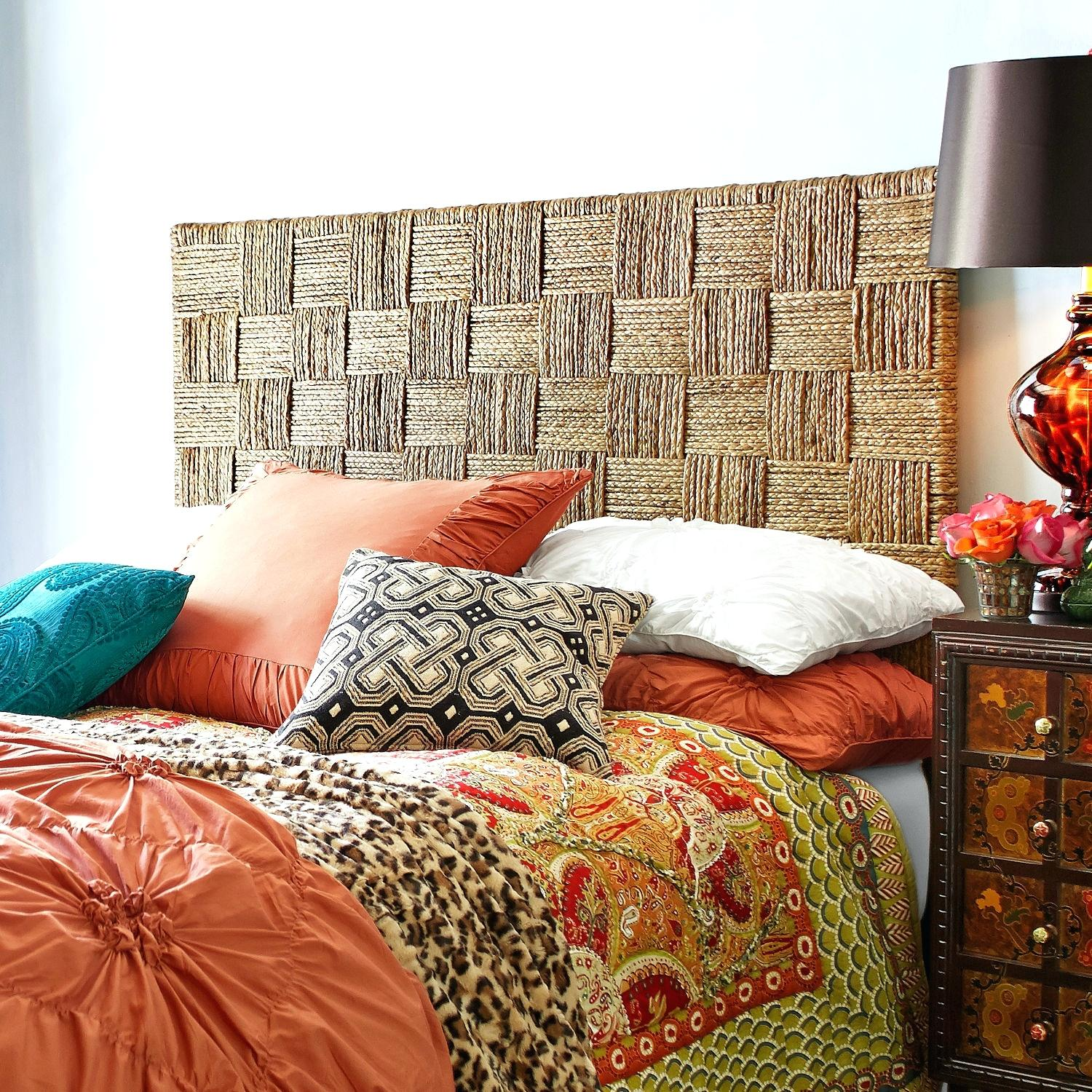 Seagrass Headboard King | Wicker Headboards King | Wicker Headboard Queen